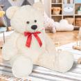 Ours en peluche géant 200 cm blanc