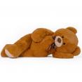 Ours en peluche géant 200 cm brun