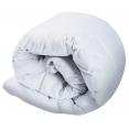 Couette 240x260 cm en plume d'oie 500g/m² anti-acarien