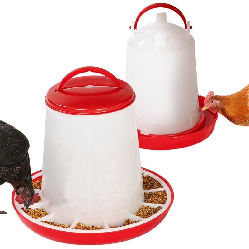 5kg TERRE JARDIN Mangeoire pour Poules /à p/édale