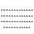 Guirlande de noël lumineuse 50 bougies à pince pour sapin