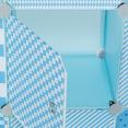 Meuble de rangement cube MERLIN enfant bleu 7 cases