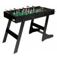 Baby-foot pliable table de jeu avec 2 balles