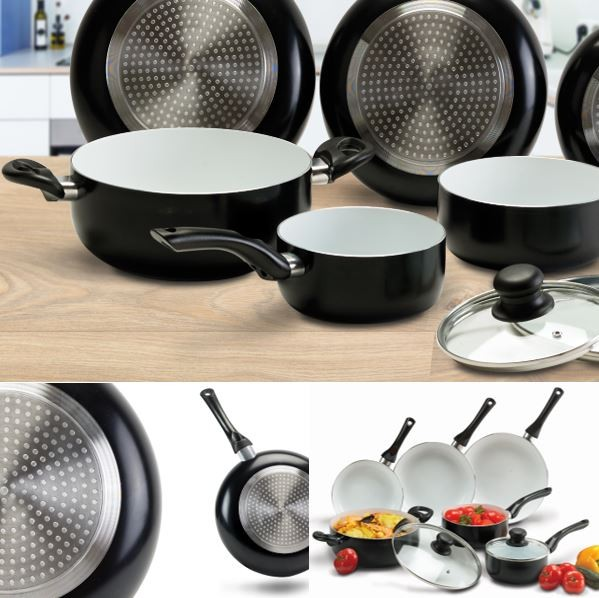 Cuisini re equipee poele cuisine ceramique plus cuisini re equipees - Lagostina poele ceramique ...