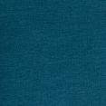 Lit double scandinave Balta 160x200 cm tissu bleu canard