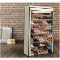 Housse pour étagère range chaussures 50 paires