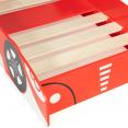 Lit voiture formule 1 rouge TEDDI 140x70cm