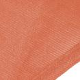 Voile d'ombrage rectangulaire terra cotta 3x4M