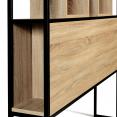 Tête de lit DETROIT 165 cm design industriel