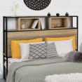 Tête de lit DETROIT 145 cm design industriel