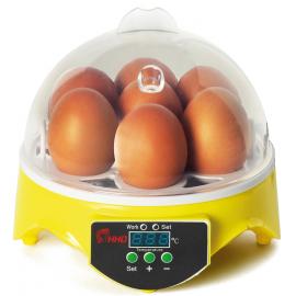 Couveuse manuelle 7 oeufs incubateur température réglable