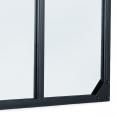 Miroir verrière 4 bandes design industriel 110X70 cm