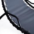 Bain de soleil suspendu gris anthracite