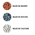 Douchette éco-thermale + 2 recharges