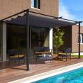 Pergola adossée ALIA 3x4M toit rétractable
