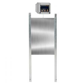 Boitier et porte automatique poulailler 30 X 40 CM