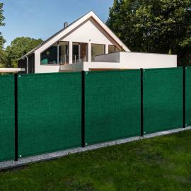 Brise vue renforcé 1,5 x 10 M vert 150 gr/m²