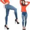 Jegging lot X3 L/XL legging imitation jean gainant femme