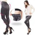 jegging lot X3 S/M legging imitation jean gainant femme