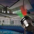 Projecteur laser éclairage extérieur étanche 1000 points rouges verts