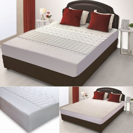 matelas m moire de forme 5 zones 160 200cm housse aloe vera. Black Bedroom Furniture Sets. Home Design Ideas
