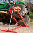Cric lève tracteur tondeuse 250 kg
