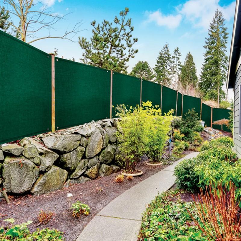 Brise vue renforc 1 x 5 m vert 220 gr m luxe pro brise for Destockage brise vue