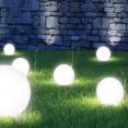 Lampe boule solaire