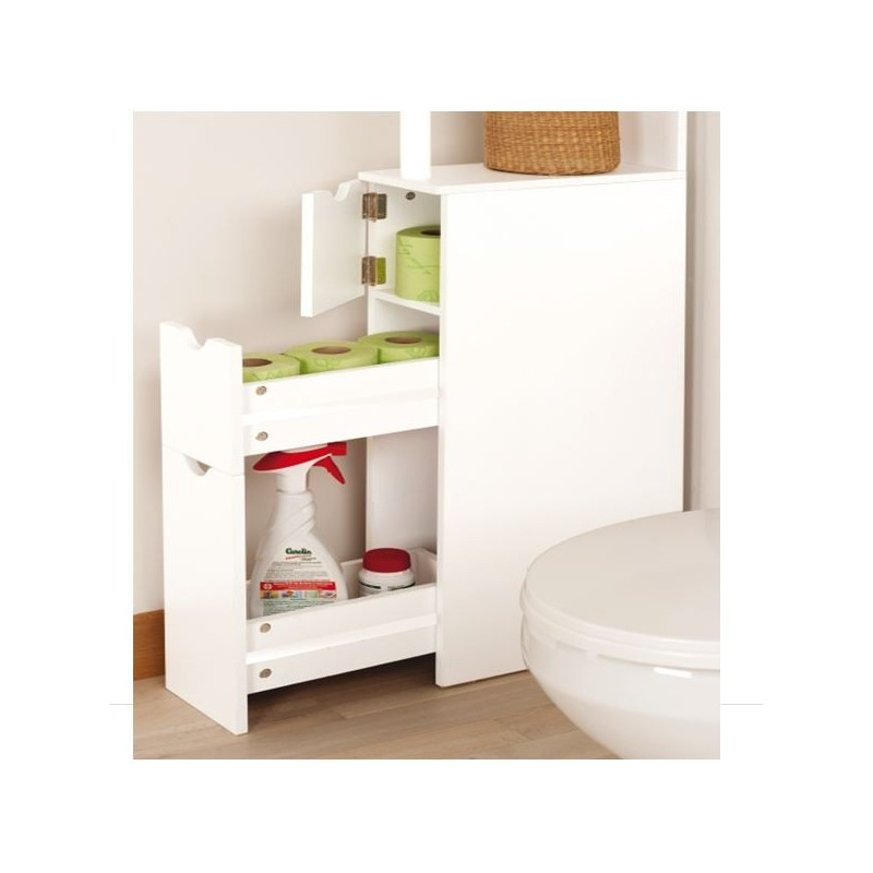 Meuble tagre cuisine meuble tagre finether 2 tier for Meuble pour toilette castorama