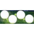 4 LAMPES BOULES SOLAIRE POUR BALISER TOUTES VOS ALLEES