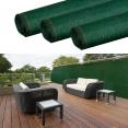 Brise vue renforcé 1,2 x 10 m vert 220 gr/m² luxe pro