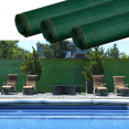 Brise vue renforcé 2 x 10 m vert 220 gr/m² luxe pro
