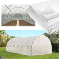 Bâche de rechange 140gr/m² pour serre tunnel 18 m² transparente
