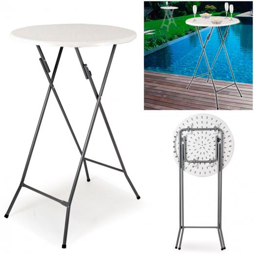 table haute de bar pliante mange debout chapiteaux de r ception et. Black Bedroom Furniture Sets. Home Design Ideas