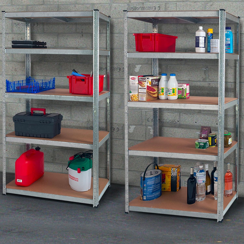 Étagère de garage modulable en métal   ID Market