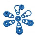 Set De 6 Œillets Attache Bâche Bleus