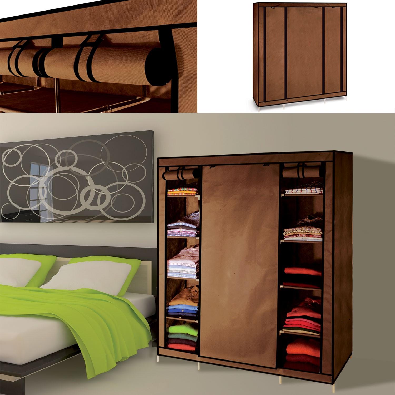 Armoire de rangement chocolat dressing penderie xxl tissu - Location de meubles et accessoires ...