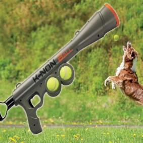 Lanceur de balle automatique pour chien