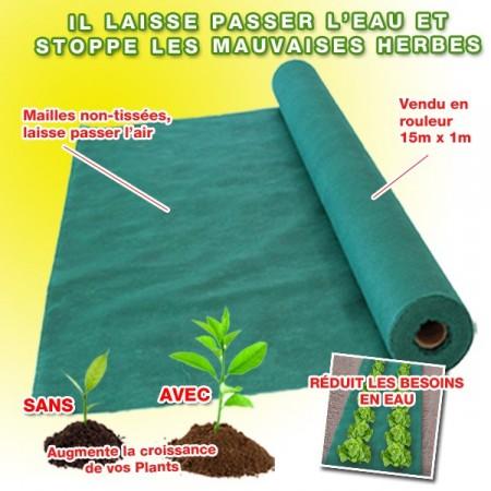 Toile de paillage le paillage paillage de jardin paillage pas cher contre les mauvaises herbe - Paillage pas cher ...