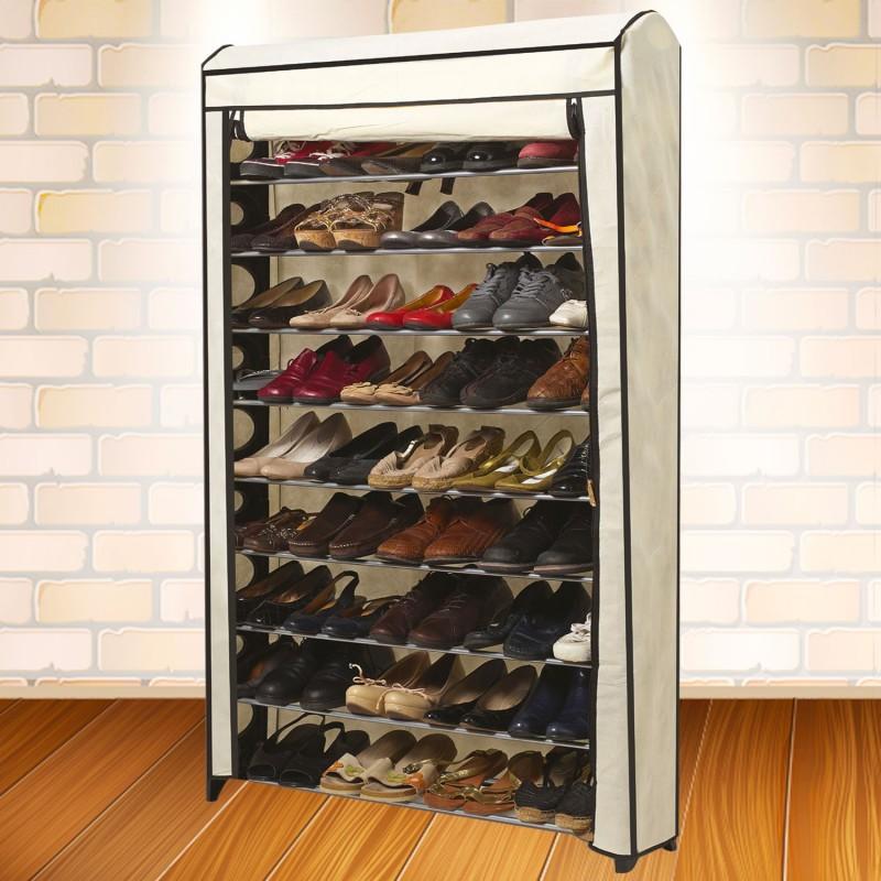 Etag re range chaussures 50 paires modulable housse crue - Housse rangement chaussures ...
