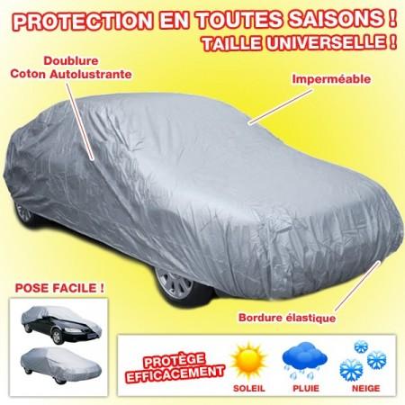 housse auto luxe bache de protection voiture auto. Black Bedroom Furniture Sets. Home Design Ideas