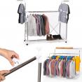 Penderie modulable portant mobile ajustable pour vêtement