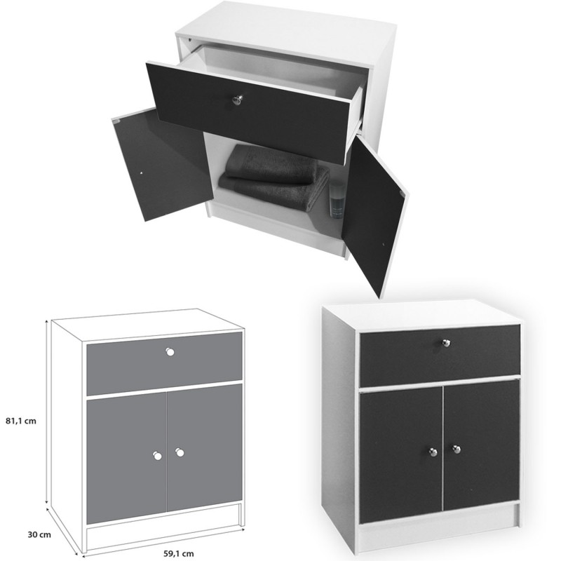 meuble rangement profondeur 30 cm latest img with meuble. Black Bedroom Furniture Sets. Home Design Ideas
