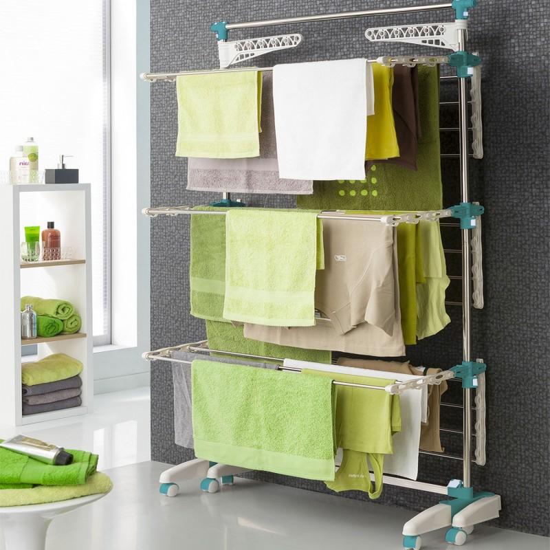 s choir modulable grande capacit 30 accessoires linge et. Black Bedroom Furniture Sets. Home Design Ideas
