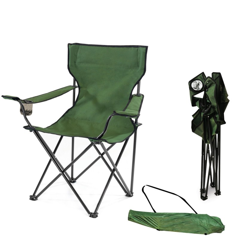 fauteuil camping pliant vert avec housse piscine et jeux. Black Bedroom Furniture Sets. Home Design Ideas