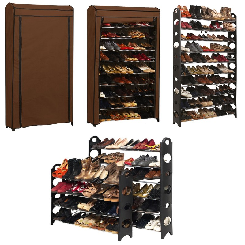 etag re range chaussures modulable 50 paires meubles et. Black Bedroom Furniture Sets. Home Design Ideas