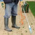 Lance désherbeur thermique désherbant mauvaises herbes écologique