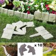 Bordurette de jardin imitation pierre x10 pièces
