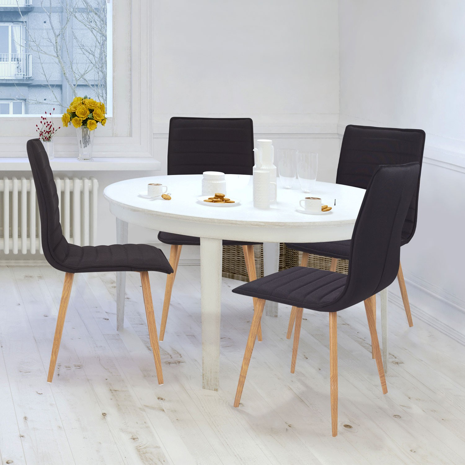 banc avec dossier pour salle a manger awesome grande table salle a manger with banc avec. Black Bedroom Furniture Sets. Home Design Ideas