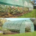 Serrre de jardin tunnel toutes saisons 18 m² 140 GR/M² verte
